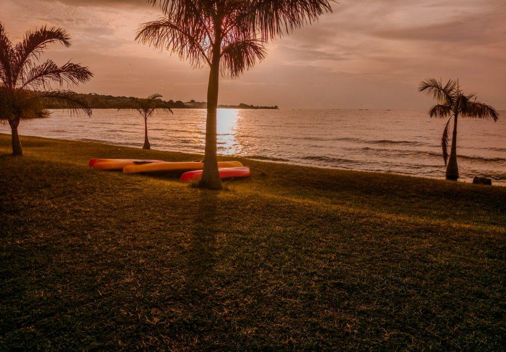 sunsets at Rusinga Island lodge