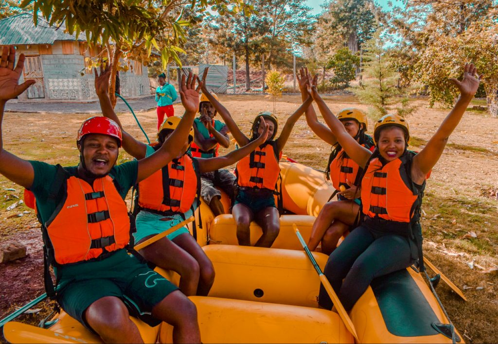 White Water rafting, Sagana