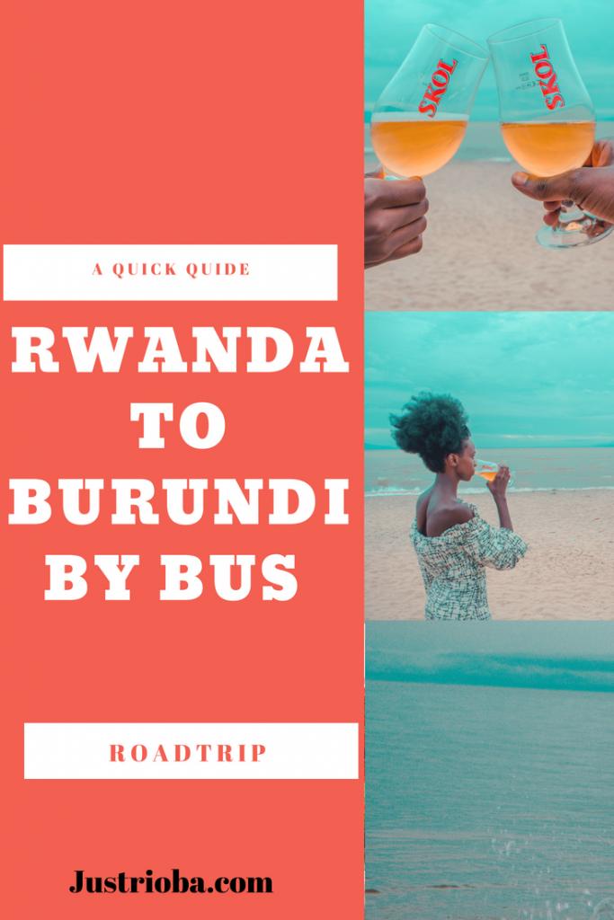 Rwanda to Burundi by Bus