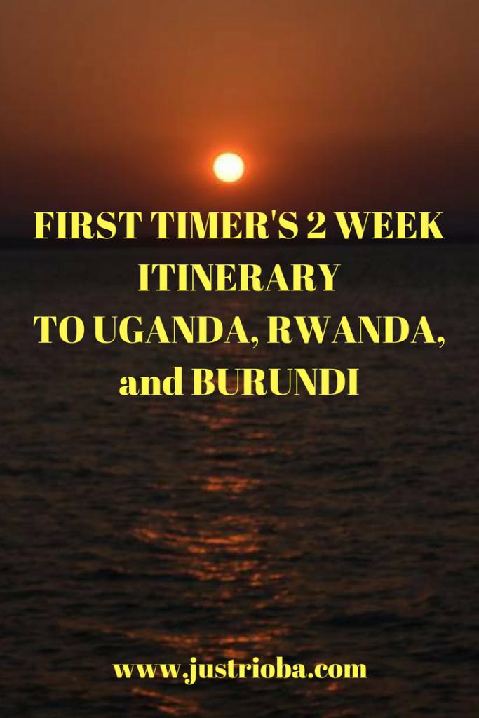 Complete Itinerary Kenya to Burundi
