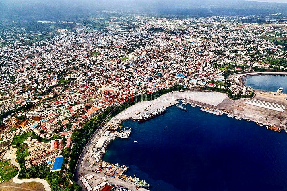 Malabo, capital city of Equatorial Guinea