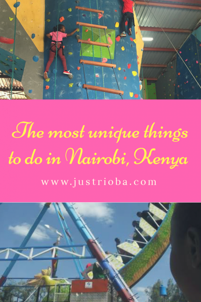 Justrioba.com unique things to do in Nairobi