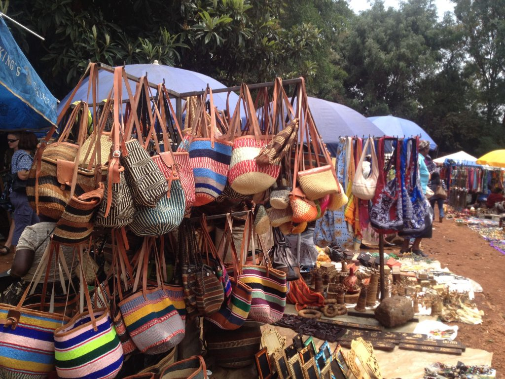A Maasai market in Nairobi