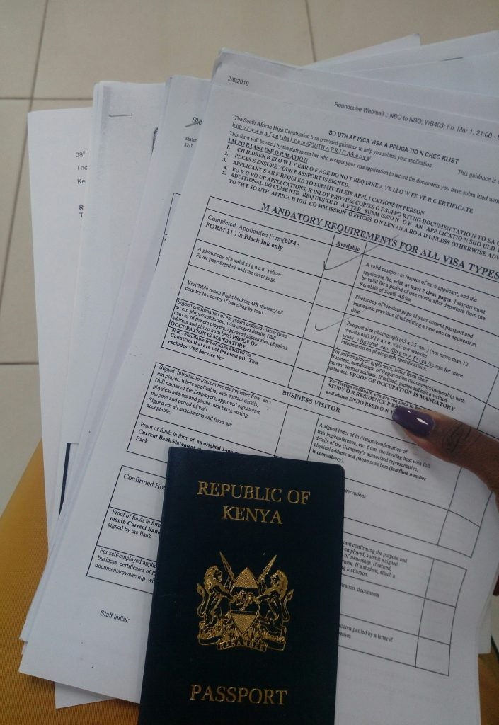 For the past few months, rumor has it that South Africa relaxed visa rules for Kenyans planning to travel to South Africa. Also, there is this belief that Kenyans can now go to South Africa visa-free for less than 30 days. Before you book that flight to visit South Africa, I would like to clarify something. There is nothing as visa free for Kenyans visiting South Africa as tourists. If you intend to stay in South Africa for less than 30 days, the visa cost is free. However, you will still need to pay the good guys at VFS global to processing your visa.